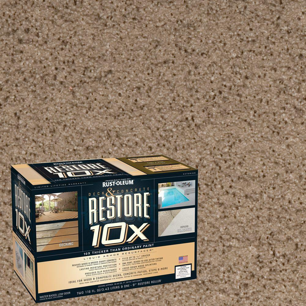 Rust-Oleum Restore 2-gal. Winchester Deck and Concrete 10X Resurfacer