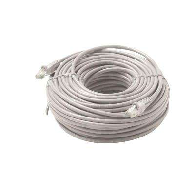 25 ft. Molded Cat5E UTP Patch Cord - Grey