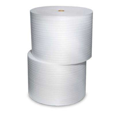 1/8 in. x 12 in. x 550 ft. Perforated 4-Roll Bundle Perforated Foam Cushion