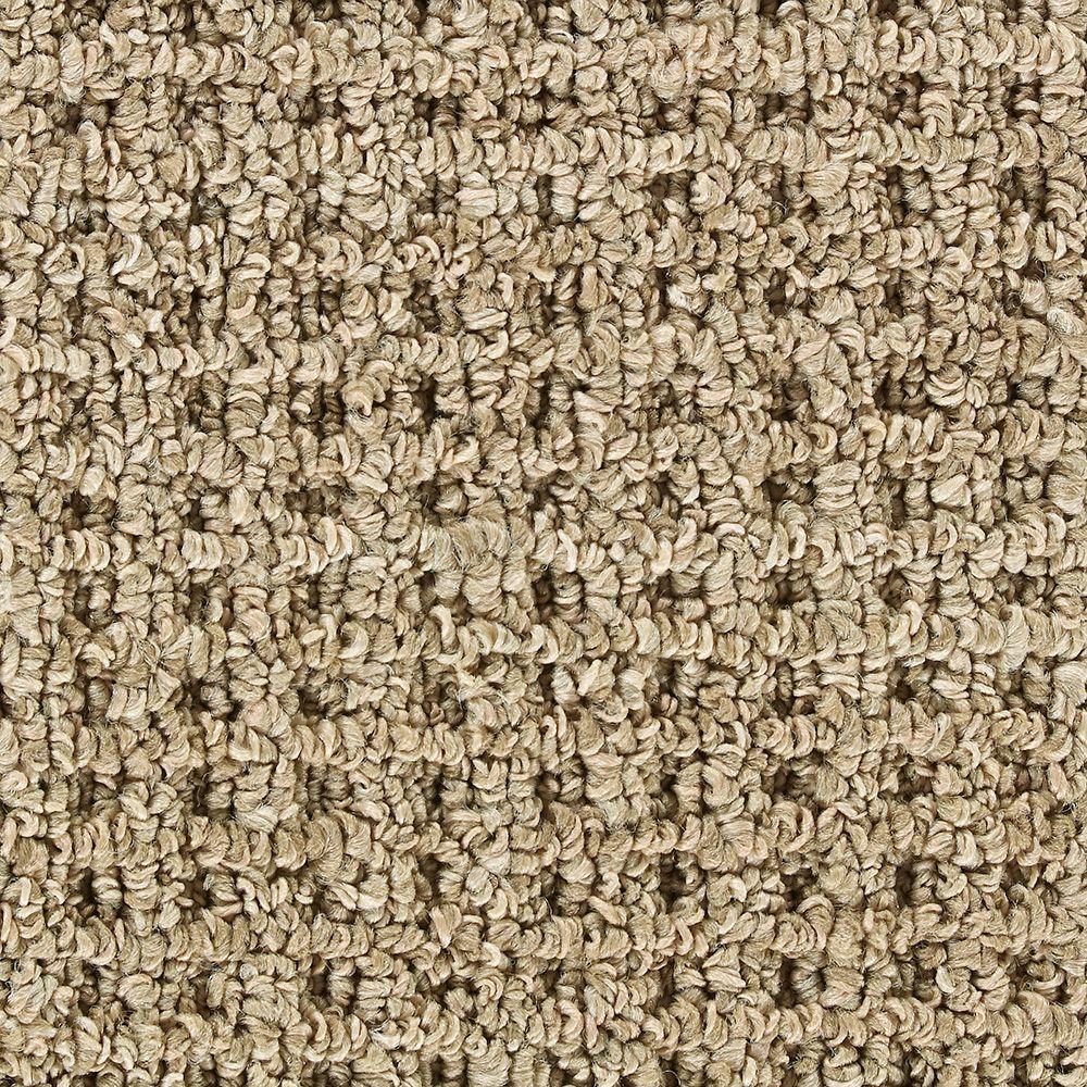 Martha Stewart Living Hillwood Nutshell - 6 in. x 9 in. Take Home Carpet Sample