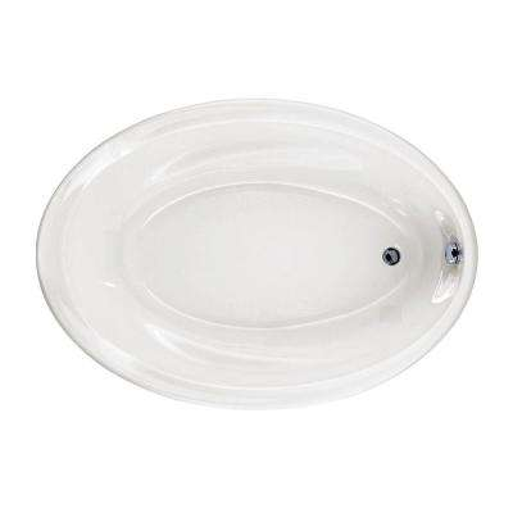 Savona 5 ft. Reversible Drain Acrylic Soaking Tub in White