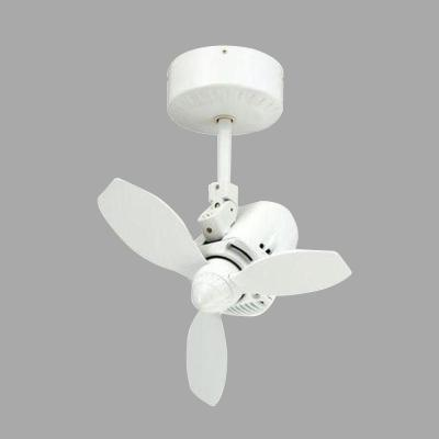 Mustang 18 in. Oscillating Pure White Indoor/Outdoor Ceiling Fan