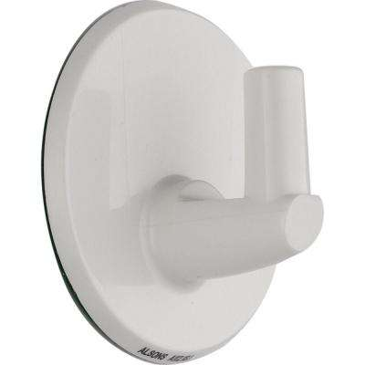 Pin Wall Mount for Hand Shower in White