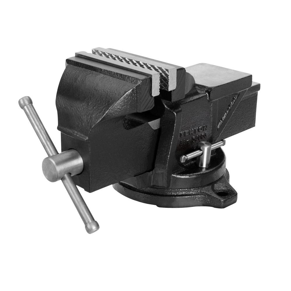 Swivel Bench Vise 4 In 3300 Lbs Cast Iron 120 Degree