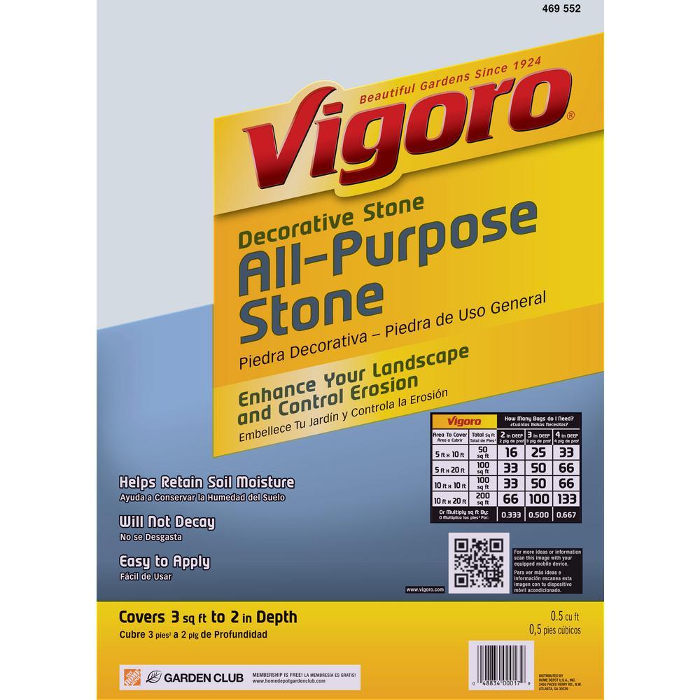 0.5 cu. ft. All Purpose Stone (64-Bags / 32 cu. ft. per Pallet)