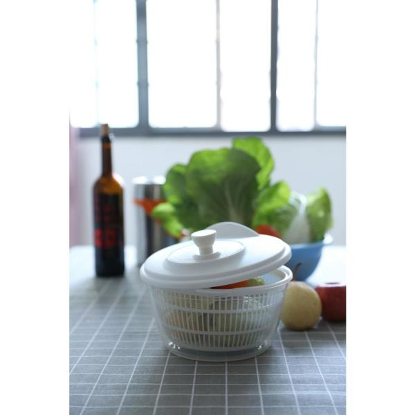Basicwise Clear Salad Spinner