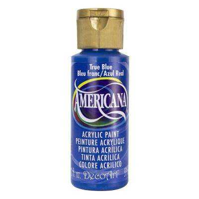 Americana 2 oz. True Blue Acrylic Paint