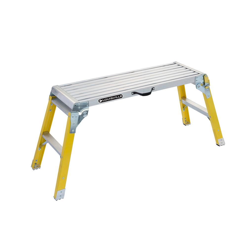 3 ft. Fiberglass Mini Working Platform with 300 lb. Load Capacity