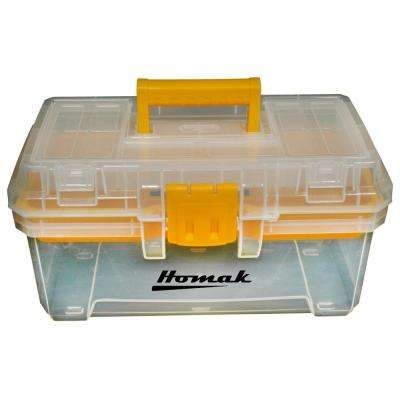 15 in. Plastic Transparent Tool Box