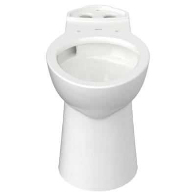 Glenwall VorMax Elongated Wall-Hung Toilet Bowl Only in White