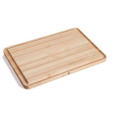 Vermonter 24 in. x 16 in. Edge Grain Butcher Block Board