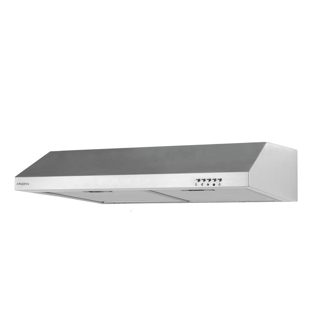 Ancona UCG630 30 in. Under Cabinet Range Hood with Light in Stainless Steel