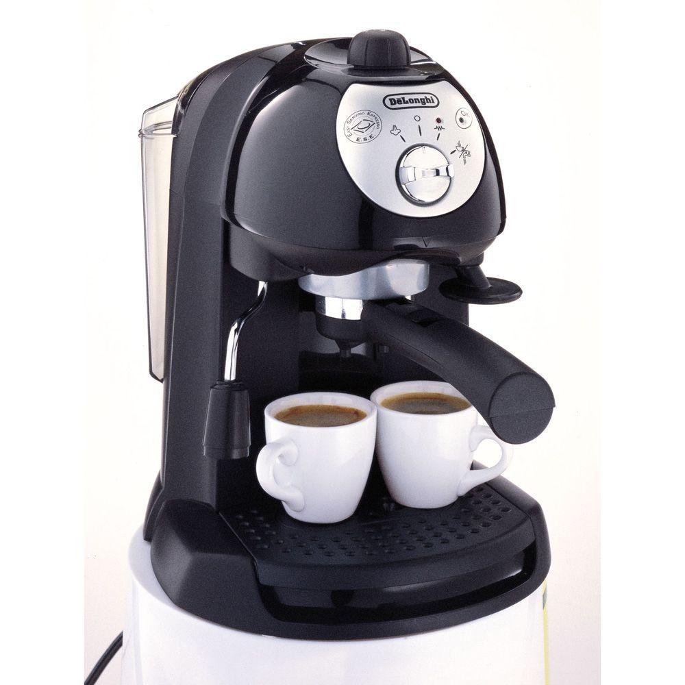DeLonghi 6-Cup Dual Function Filter Espresso Machine
