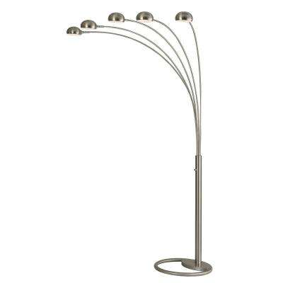 Mushroom 87 in. Arc Lamp with 5 Lights
