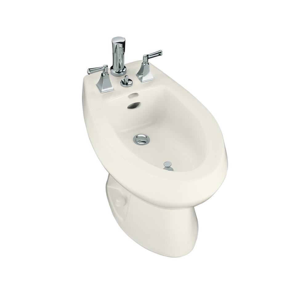 San Tropez Elongated Bidet in Biscuit