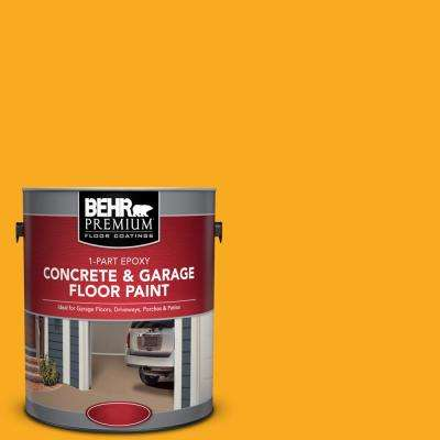 1 gal. #P270-7 Sunny Side Up 1-Part Epoxy Concrete and Garage Floor Paint