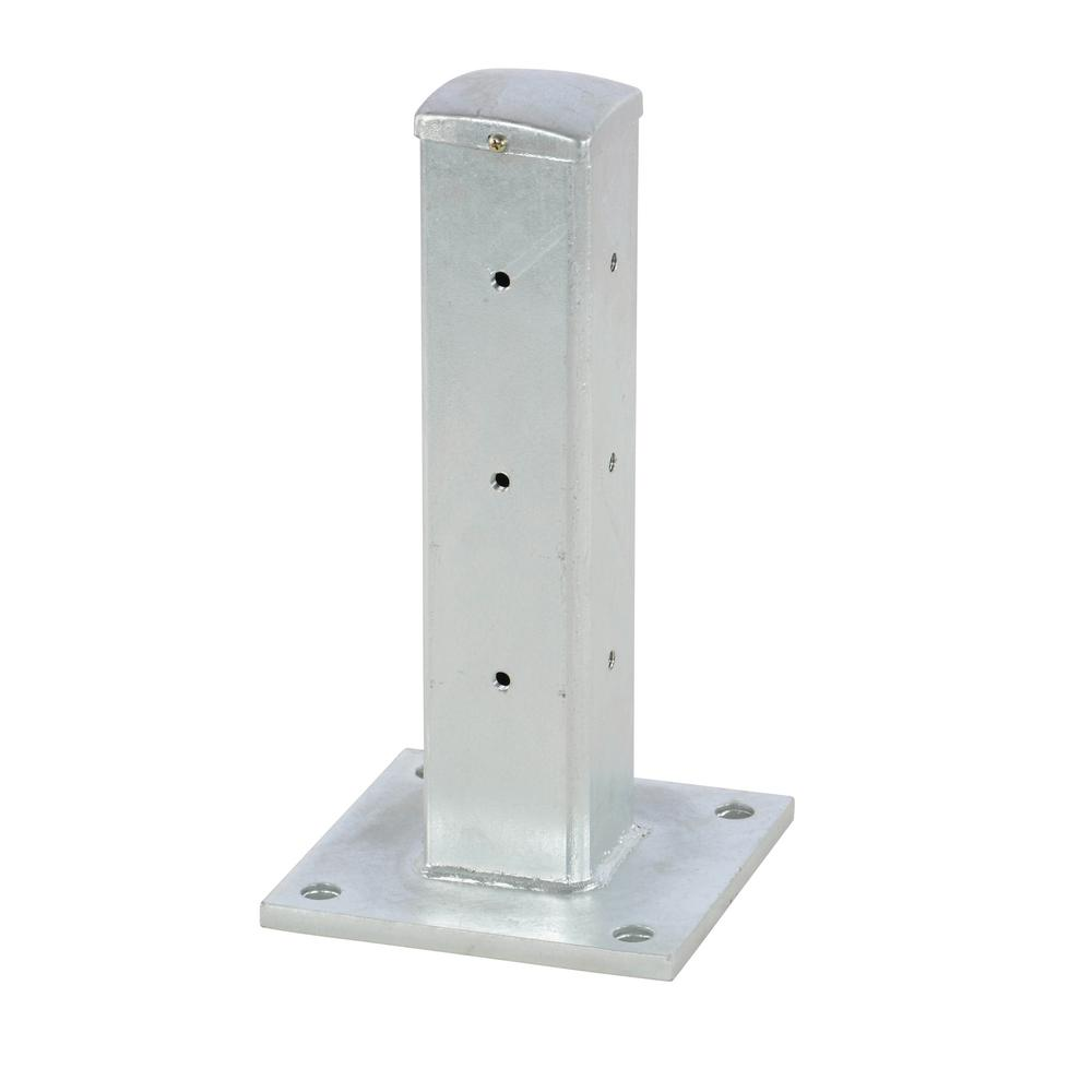 18 in. Galvanized Steel Rigid Post
