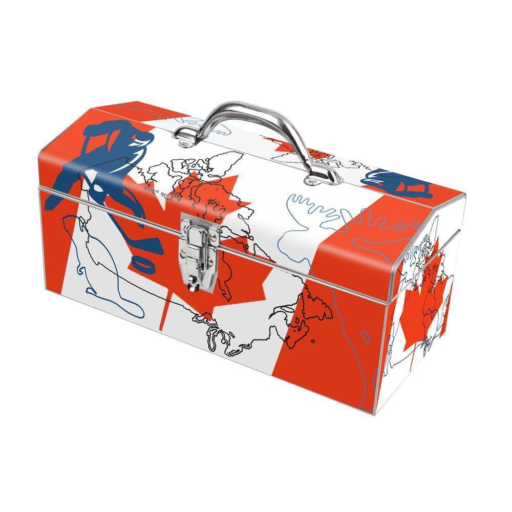 Sanity Art Works 16 in. Canada Moose Art Tool Box