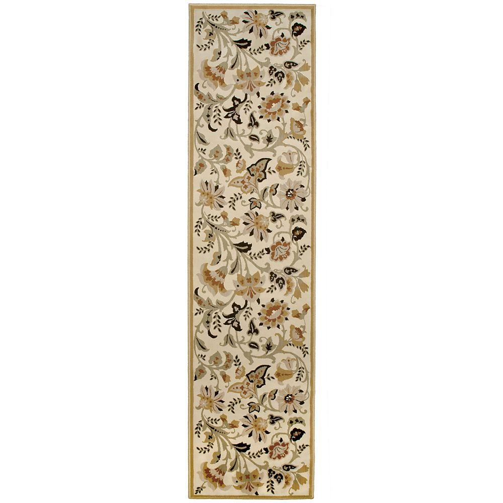 Orian Rugs Devore Sunwashed Beige 1 ft. 11 in. x 7 ft. 6 in. Rug Runner