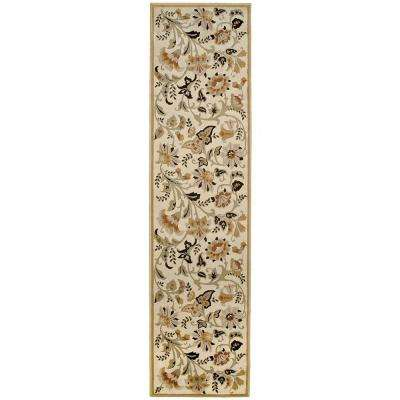 Devore Sunwashed Beige 1 ft. 11 in. x 7 ft. 6 in. Rug Runner