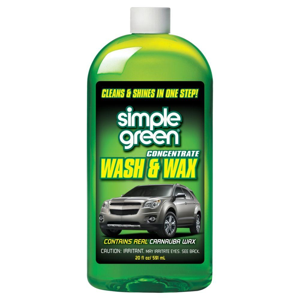 Rental Cars Dc: Simple Green 20 Oz. Car Wash And Wax-0200000143270