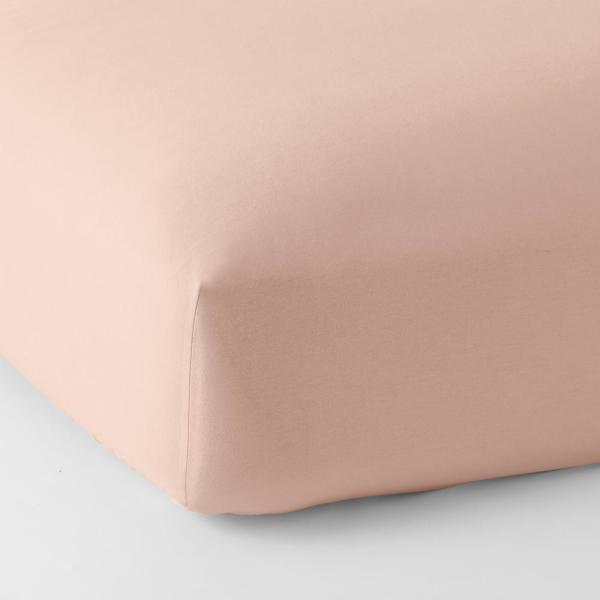 The Company Store Legacy Velvet Flannel Dusty Rose Solid Twin Xl Fitted Sheet Ea74 Txl Dusty Rose The Home Depot