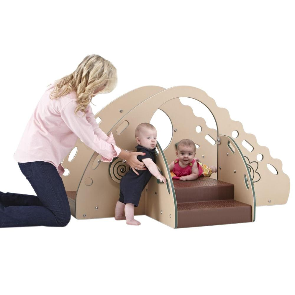 Ultra Play Early Childhood Commercial Crawl and Toddle Playsystem Standard Platform