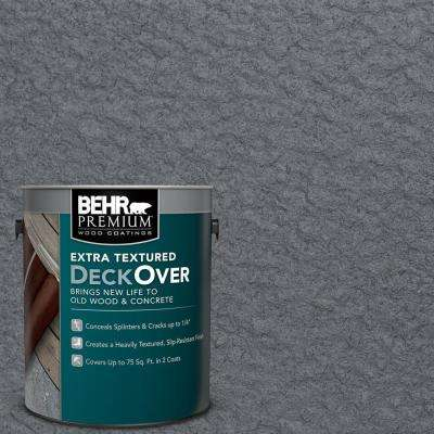 1 gal. #PFC-65 Flat Top Extra Textured Solid Color Exterior Wood and Concrete Coating