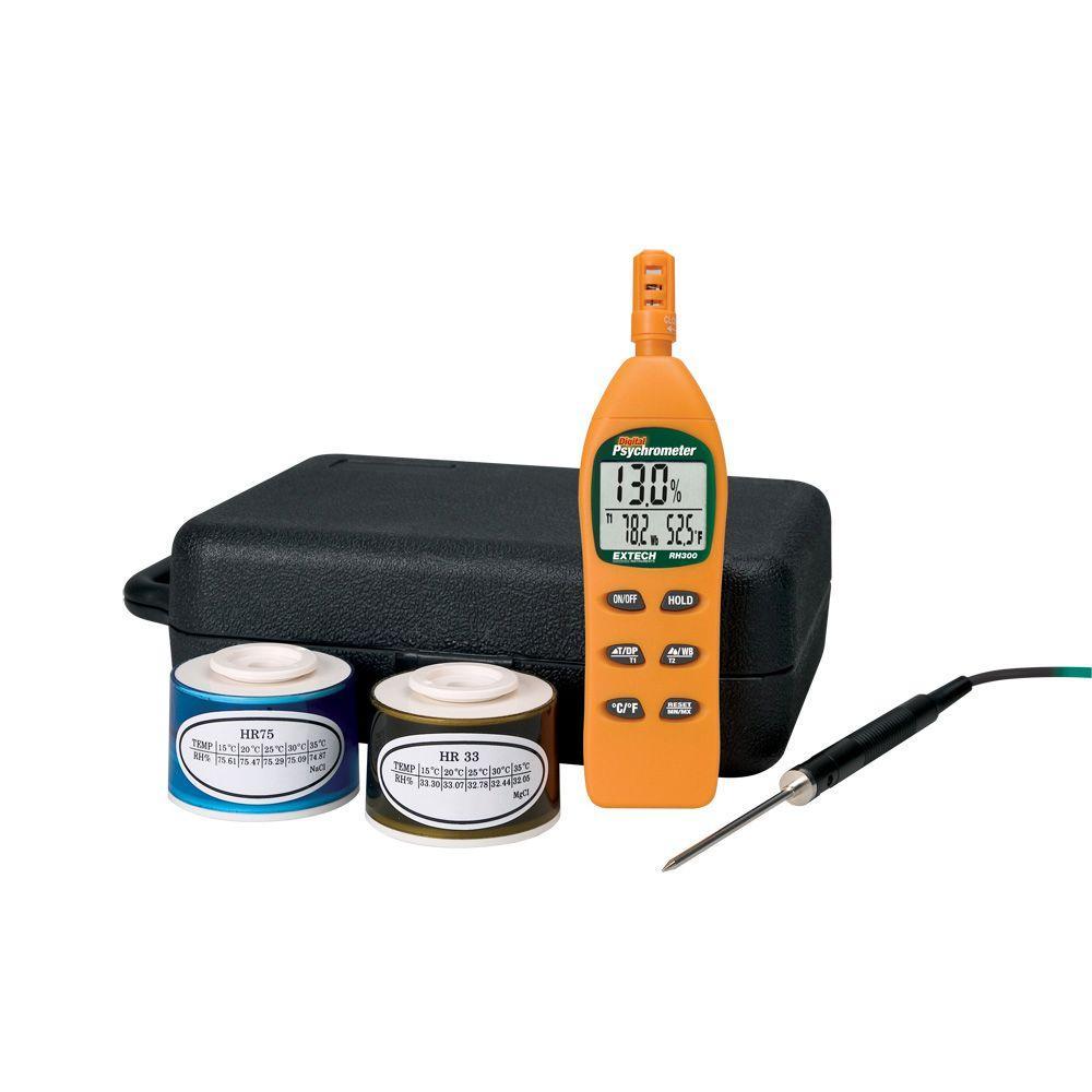 Extech Hygro-Thermometer Psychrometer Kit