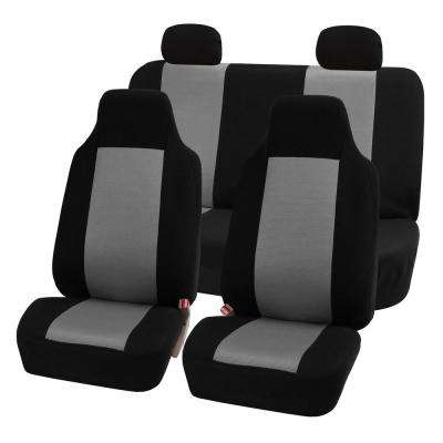 Sandwich Fabric 47 in. x 23 in. x 1 in. Full Set Seat Covers