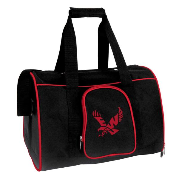 Denco NCAA Eastern Washington Eagles Pet Carrier Premium 16 in. Bag