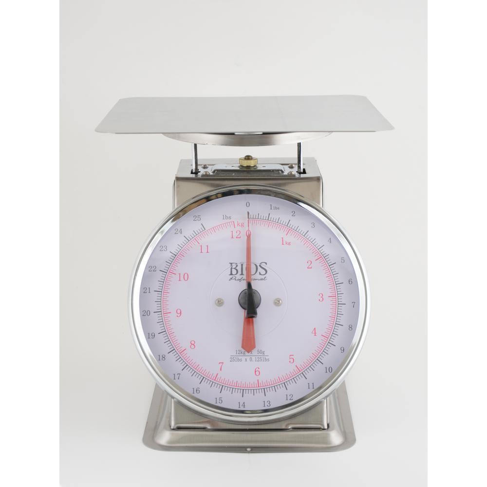 25 lbs. / 12 kg Mechanical Food Scale
