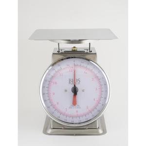 Click here to buy  25 lbs. / 12 kg Mechanical Food Scale.