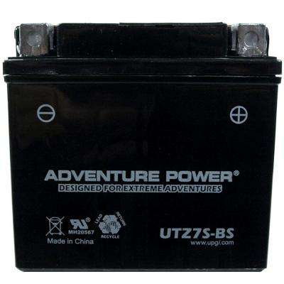 Dry Charge AGM 12-Volt 6 Ah Capacity K Terminal Battery