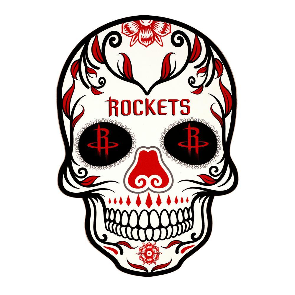 NBA Houston Rockets Outdoor Skull Graphic- Small
