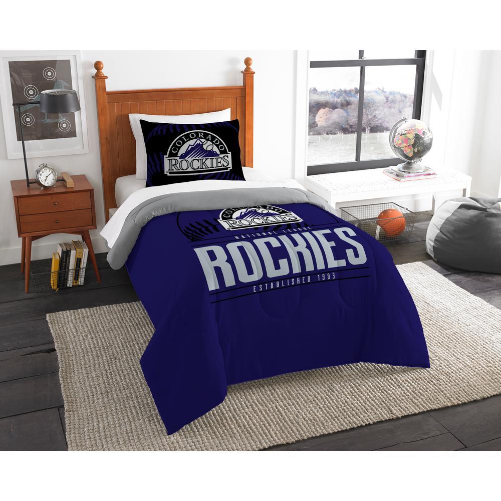 Rockies 3-Piece Multi Color GrandSlam Twin Comforter Set