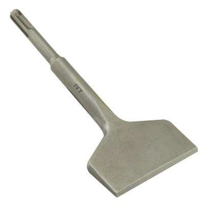 6-1/2 in. x 3 in. SDS Plus Wide Bent Chisel, Chrome Molybdenum Steel