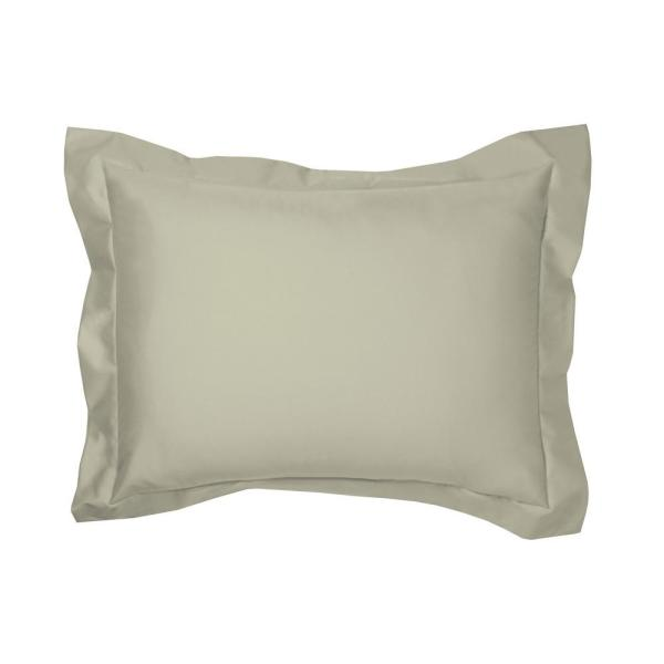 The Company Store Thyme Solid 450 Thread Count Wrinkle-Free Sateen King Sham