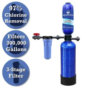 Aquasana Rhino Series 3-Stage 300,000 Gal. Whole House Water Filtration System by Aquasana