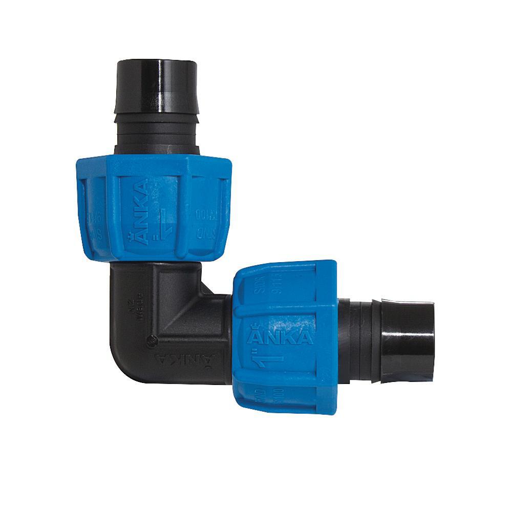 x 1//2 in WATTS ART112 ANKA 1 in Fiberglass Reinforced Nylon Reducing Tee blue,black