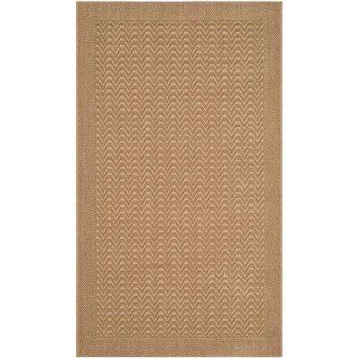 Palm Beach Maize 3 ft. x 5 ft. Area Rug