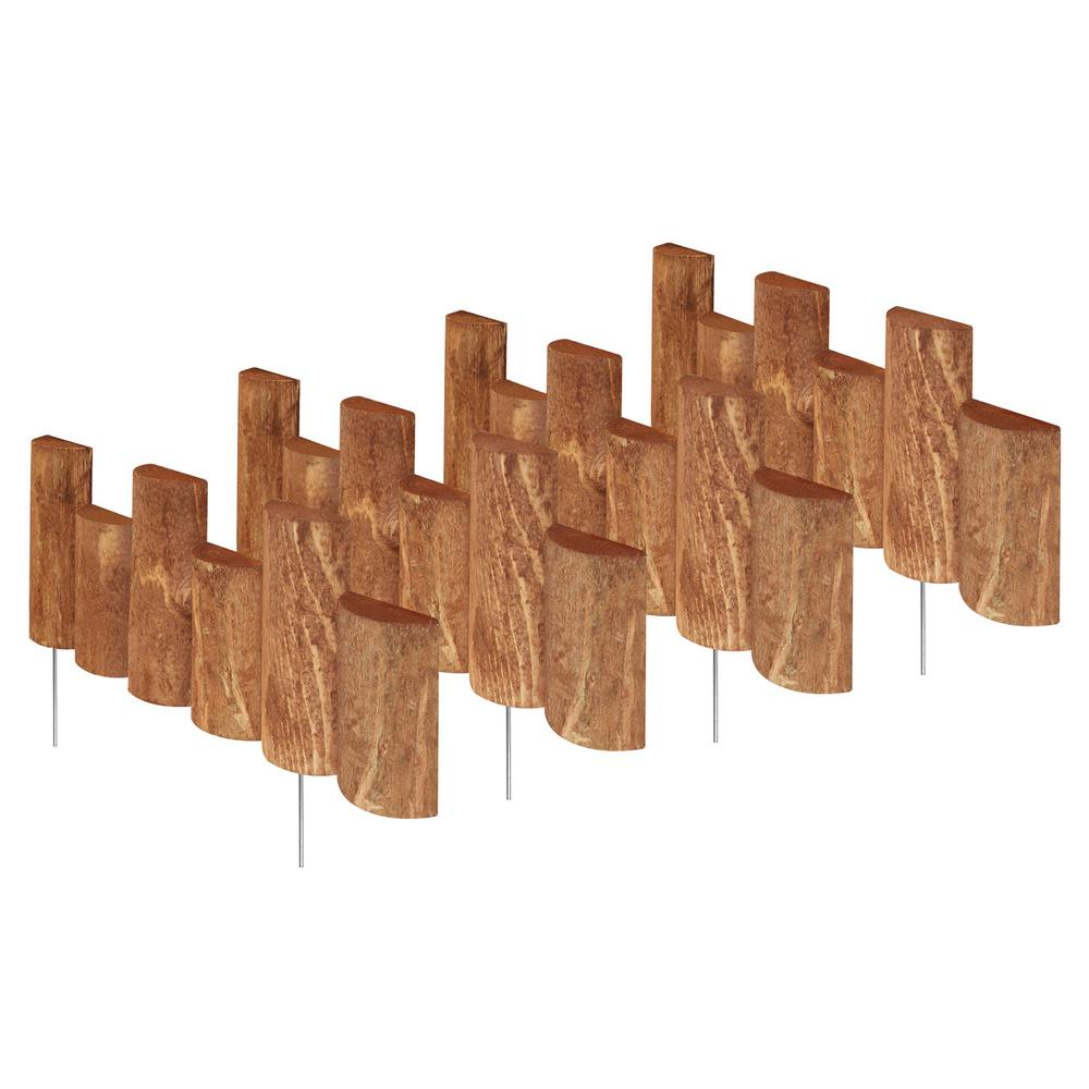 18 in. Half Log Edging (4-Pack)