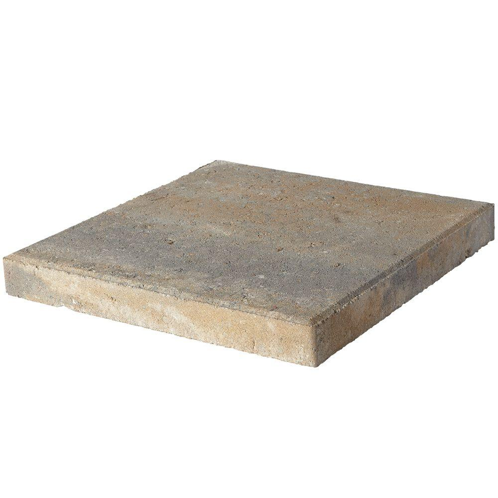 Patio Slabs At Home Depot: Pavestone 16 In. X 16 In. X 1.75 In. Yukon Square Concrete