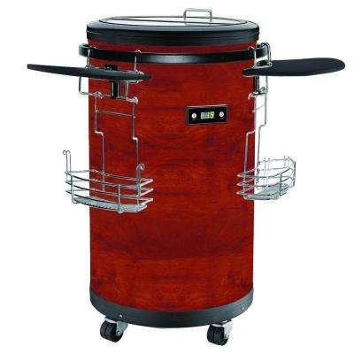 70-Bottle Single Zone Refrigerated Party Cooler in Cherry