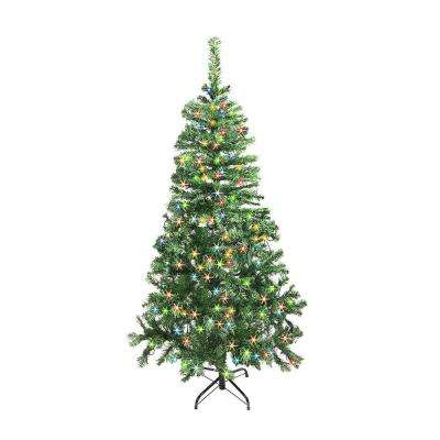 5 ft. Pre-Lit Artificial Christmas Tree