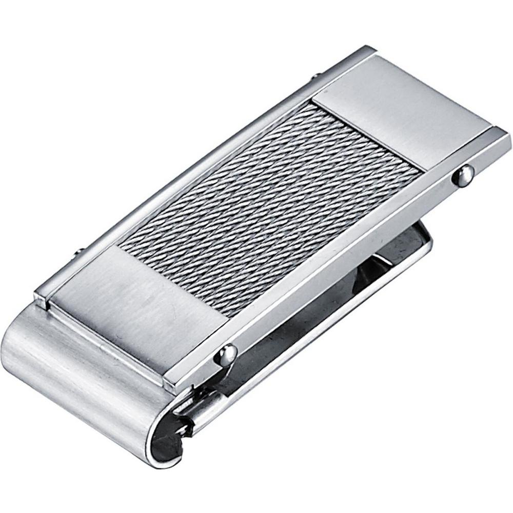 Wire Stainless Steel Money Clip, Grays