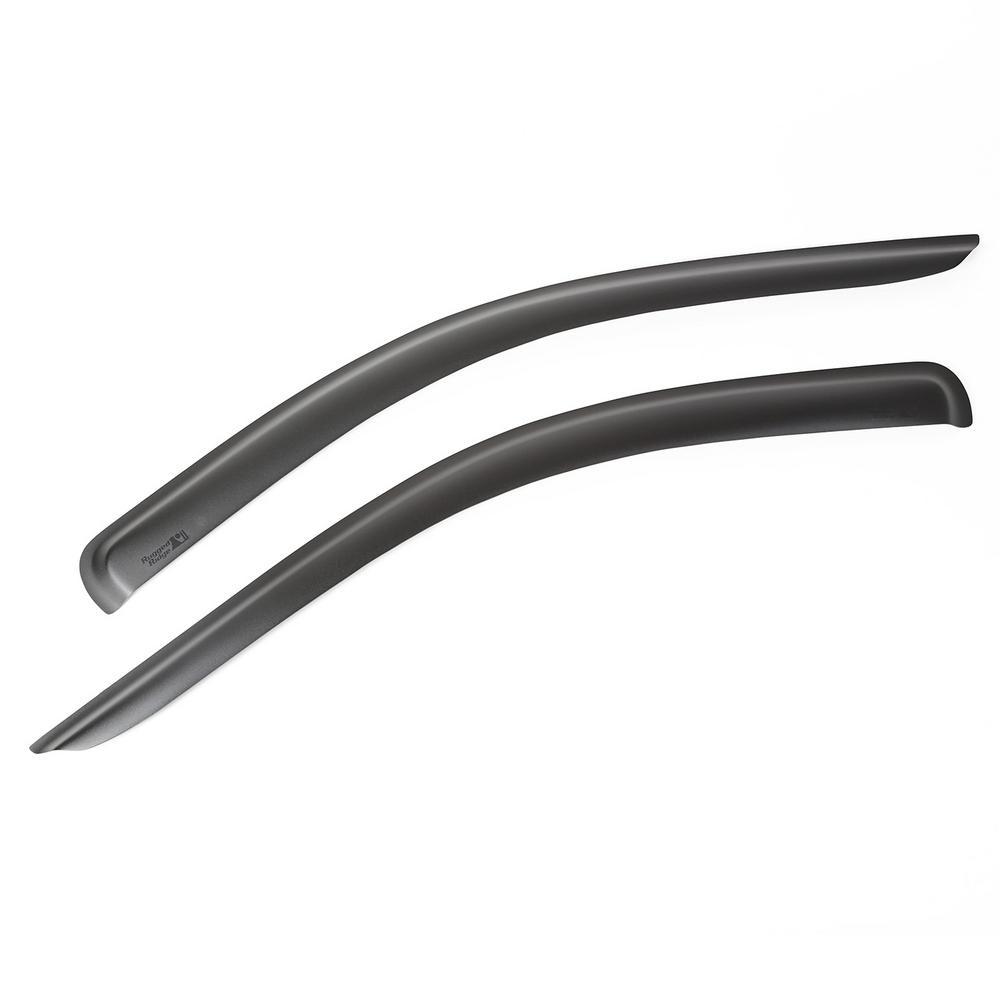 Matte Black Front Window Visors 02-08 Ram 2500/3500 Pickup