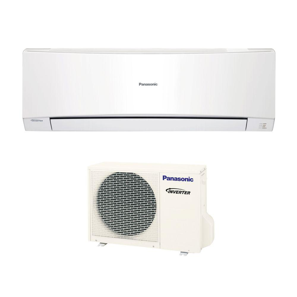 Panasonic 12,000 BTU 1 Ton Ductless Mini Split Air Conditioner with Heat - 230 or 208V/60Hz