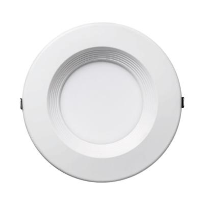 6 in. Canless Selectable Integrated LED Recessed Retrofit Baffle Trim Downlight