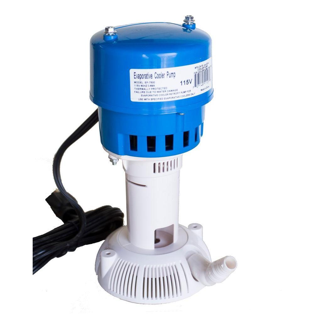 115-Volt 60Hz 7500 CFM Evaporative Cooler (Swamp Cooler) Pump